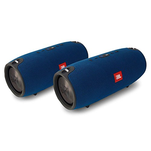 JBL Xtreme Portable Wireless Bluetooth Speakers - Pair (Blue)
