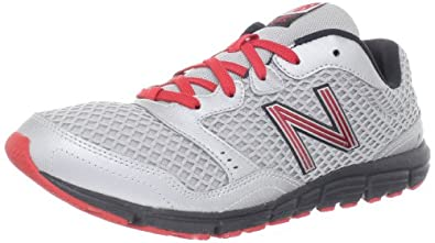 新百伦New Balance 男式M630真皮 休闲慢跑鞋 银色 折后$34.75
