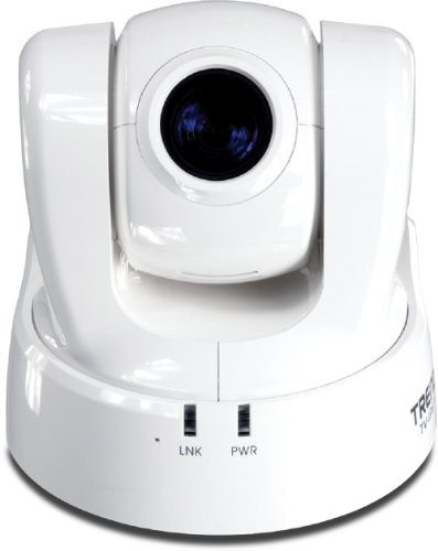 Trendnet TV-IP612P Proview Poe Pan/Tilt/Zoom Internet Surveillance Camera (White)