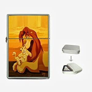 THE Lion King 2 Flip Top Lighter and Case Box