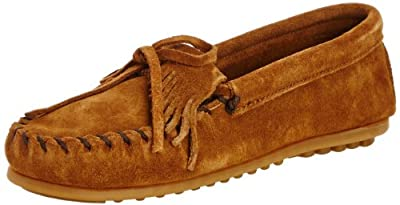 Minnetonka Kilty Suede Moc (Toddler/Little Kid)