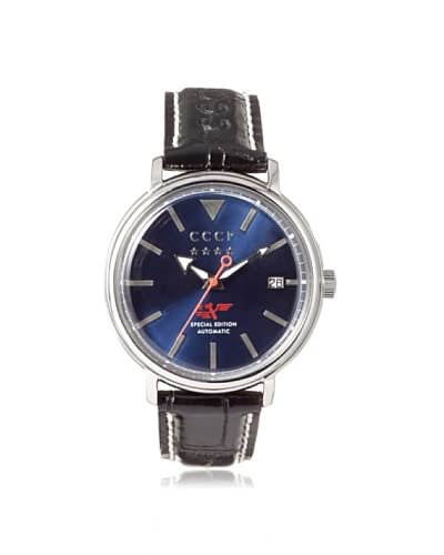 CCCP Men's 7020-02 Heritage Black/Blue Stainless Steel Watch