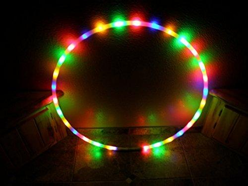36ʺ 91Cm Starburst - Led Hula Hoop By Colorado Hula Hoops