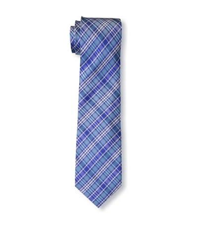Ben Sherman Men's Grid Tie, Blue