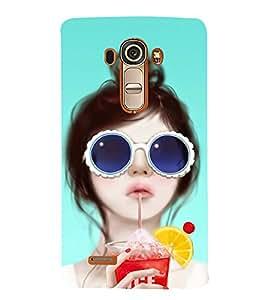 BEAUTIFUL GIRL Designer Back Case Cover for LG G4::LG G4 H815