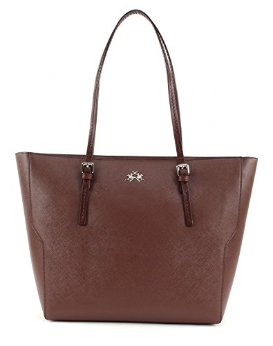 BORSA LA MARTINA ESTRELLA SHOPPING BAG 306 001 (MARRONE)
