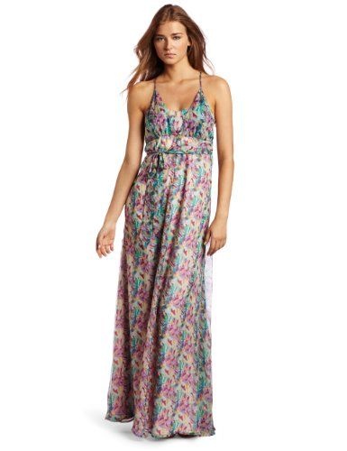 Dallin Chase Women's Mac Maxi Dress, Sorbet Multi, Medium