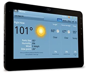 ViewSonic GTablet With 10&quot; Multi-Suggestion LCD Screen, Android OS 2.2