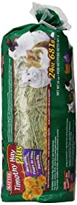 Kaytee Timothy Hay Plus Marigolds Pet Treat, 24-Ounce