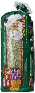 Kaytee Timothy Hay Plus Marigolds Pet Treat, 24-Ounce