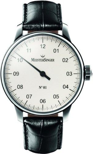 MeisterSinger No 01 Reloj elegante para hombres Diseño Clásico