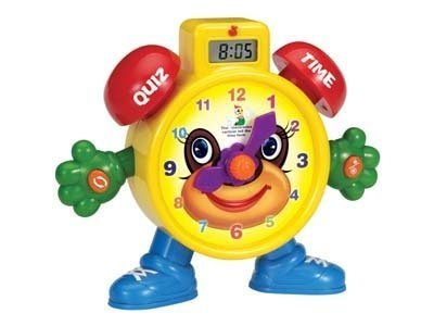 Toy Clock For Teaching Time Learning Teach Time Clock