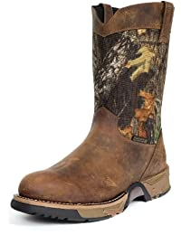 "Rocky Men's 10"" Aztec Waterproof Camo Pull-on Boots-2871"