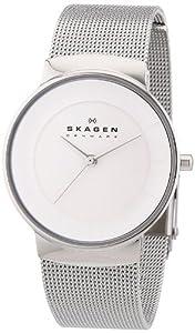 Skagen Damen-Armbanduhr XS Analog Quarz Edelstahl SKW2075