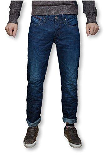 TIFFOSI uomo-Jeans slim Blu USED-Jeans-JOHN TIFFOSI blu 34