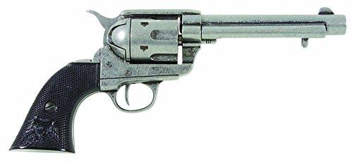 deko-waffe-45er-colt-peacemaker-grau-schwarz