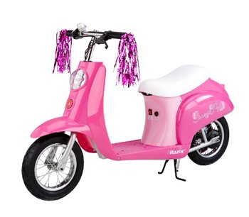 Razor Sweet Pea Pocket Mod Miniature Electric Euro-Style Scooter for Girls
