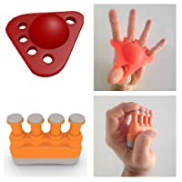 TOP RATED Hands & Fingers 2-in-1 Kit - Hand Stretcher Gripper & Finger Strengthener - Lifetime Guaranteed - Ultimate Grip & Best Extension Exerciser For Athletes & Musicians - SEE REVIEWS & GET ONE!