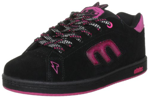 Etnies Disney Kids Callicut 2.0 Black/Pink Fashion Sports Skate Shoe 4301000108 2.5 UK Youth