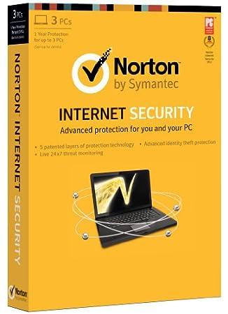 Norton Internet Security 2013 - 1 User / 3 PC