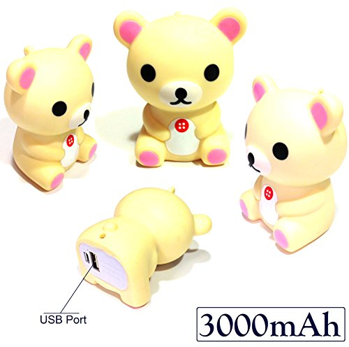 Josi Minea 3000mAh Cartoon Figure Power Bank