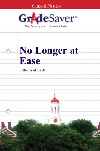 No longer at ease essay examples