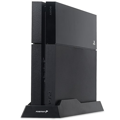 Fosmon Non-Slip Vertical Stand For Sony Playstation 4 Ps4 Console - Black