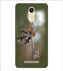 PrintDhaba Anique Key D-2386 Back Case Cover for XIAOMI REDMI NOTE 3 PRO (Multi-Coloured)