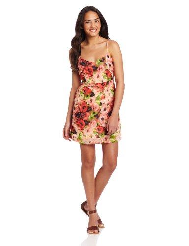 Bb Dakota Women'S Loe Dress, Poppy Red, 4