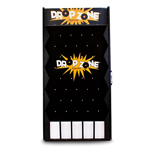 midway monsters drop zone express customizable plinko