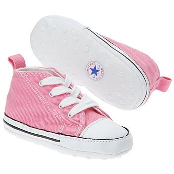 Converse First Star Crib Shoes/Soft Bottoms Infants - Pink 3