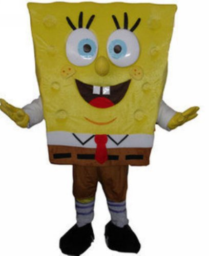 Fancytrader Spongebob Squarepants Spongebob Mascot Costume Fancy Dress FT20015