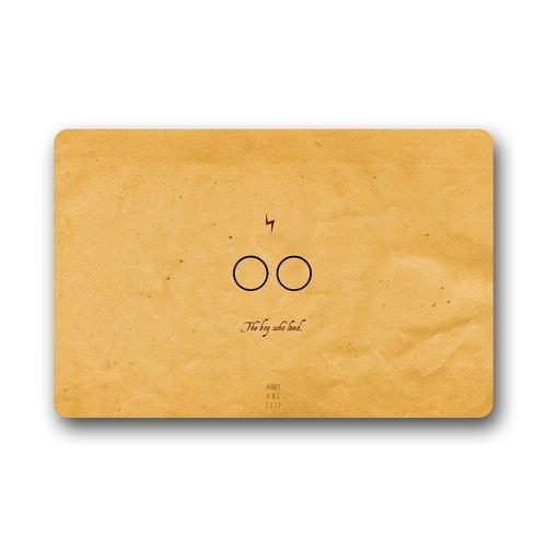 skoyi Harry Potter Quotes Custom durevole per interni/esterni Zerbino (58,4x 39,9cm)