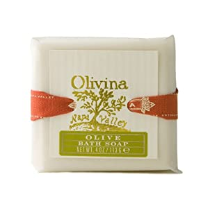 Olivina Bath Soap, Classic Olive, 4 Ounce from Olivina