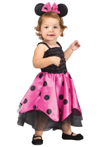 Little Girls' Infant Mouse Costume Standard front-988467
