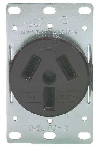 6 pack of 32b 50a flush range receptacle circuit breakers fuses load centers