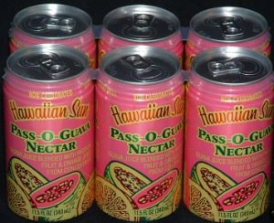Hawaiian Sun Passion Orange Guava (12 Cans)