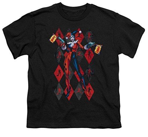 Batman-Harley-Quinn-Pow-Youth-T-Shirt