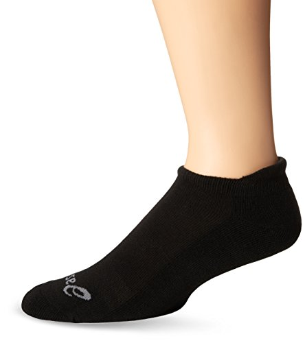 ASICS Cushion Low Cut Socks , Black, X-Large