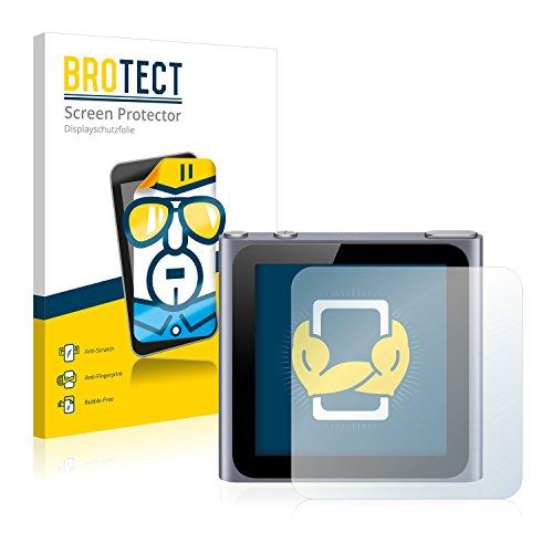 2x BROTECT HD-Clear Film Protection Apple iPod nano 6ème génération (2011) Protection Ecran - Transparent, Anti-Trace