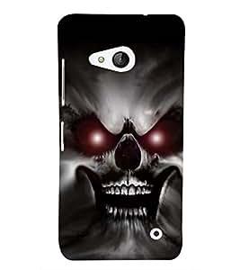EPICCASE scaring ghost Mobile Back Case Cover For Microsoft Lumia 550 (Designer Case)