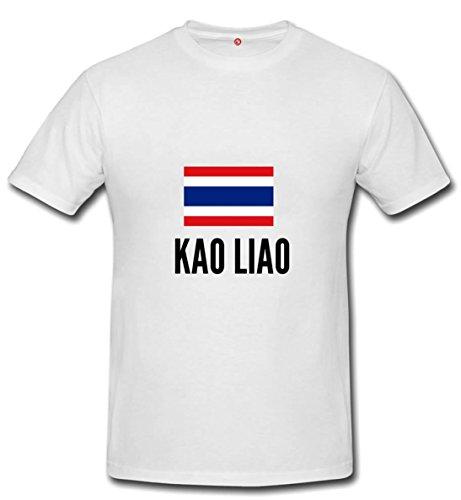 T-shirt Kao liao city White