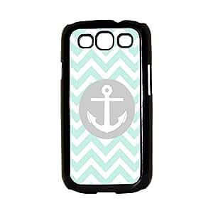 Anchor Mint Chevron Galaxy S3 Case S III Case Samsung S3 Case I9300 Case