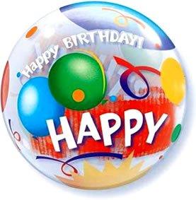 22 Inch Birthday Celebration 3D Bubble Balloons
