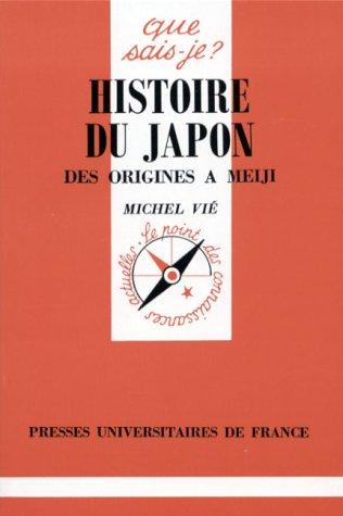 Histoire du Japon des origines à Meiji