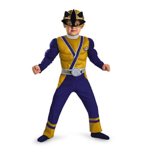 Disguise Baby-Boys Power Rangers & Samurai Muscle Costume