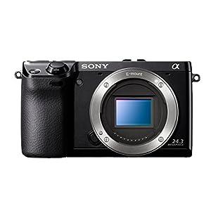 Sony NEX-7KB Systemkamera (24 Megapixel, 7,5 cm (3 Zoll) Display, Full HD Video) Kit inkl. 18-55 mm Objektiv