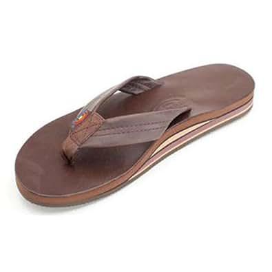 Rainbow Sandals Men's Bentley Sandals Classic Mocha Size Small (7.5-8.5)