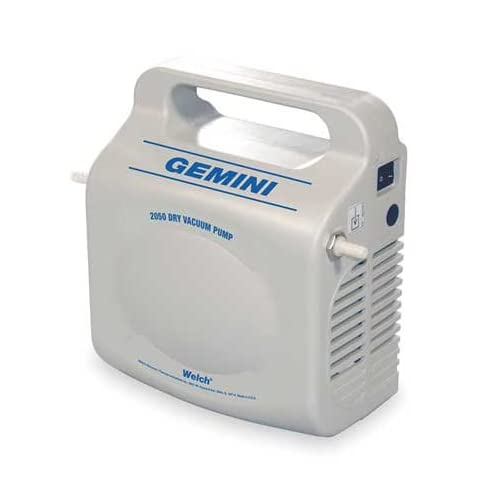 WELCH 2050B 01 Vacuum Pump,0.005 HP,12 VDC