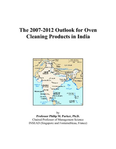 The 2007-2012 Outlook For Oven Cleaning Products In India front-534139
